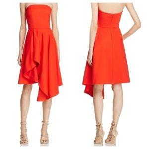 REVOLVE ELLIATT Origin Strapless Asymmetrical Dres